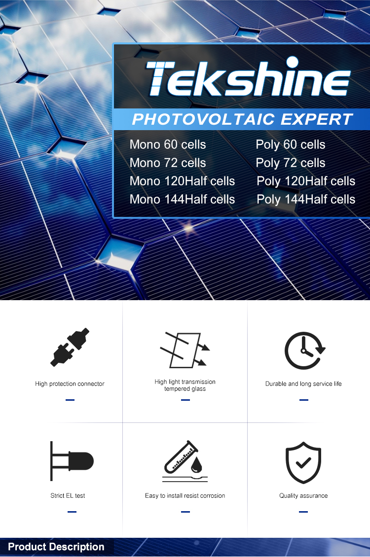 Made in China 60cells polycrystalline 275w-285w MINI SOLAR PANEL