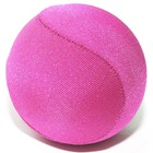 Hot sale Wholesale custom Logo soft lycra fabric covered tpr squeeze ball water for anti stress