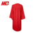 Red Graduation Gown With Cap- Matte