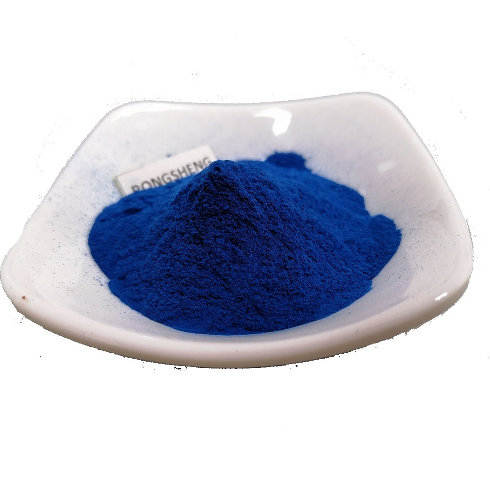 Organic Natural Blue Spirulina Extract C Phycocyanin Powder for Color Value E18