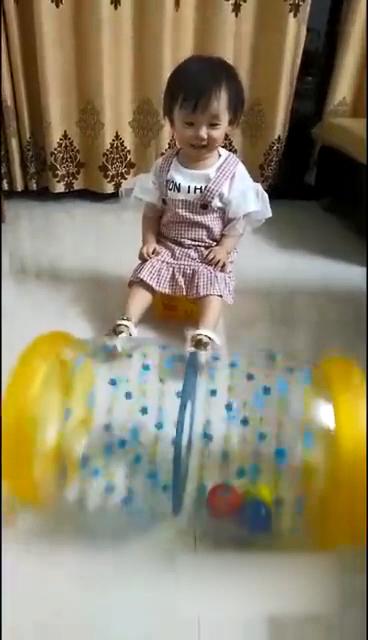 Baby Praktijk Klimmen Opblaasbare Baby Roller Training Bal Vroege Onderwijs