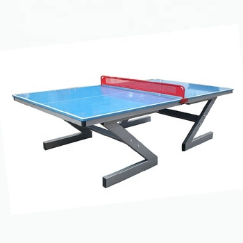 Glassfiber Material 22mm Thickness and Outdoor Table Tennis Table with Red Net