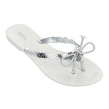 MELISSA/милые тапочки; Женские прозрачные туфли на плоской подошве; Сандалии; Женские Вьетнамки; Melissa; Женская обувь на плоской подошве; 2020(Китай)