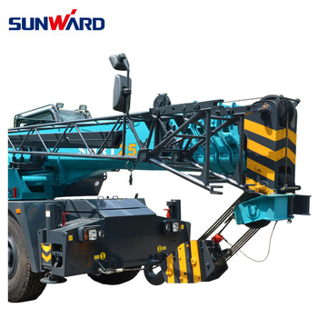 SUNWARD SWRT25J Wheeled crane truck mounted in stock