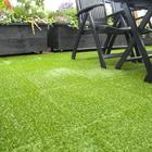 Grass Grass Manufacturer FREE SAMPLES Interlocking PP Tile Artificial Grass For Football Field