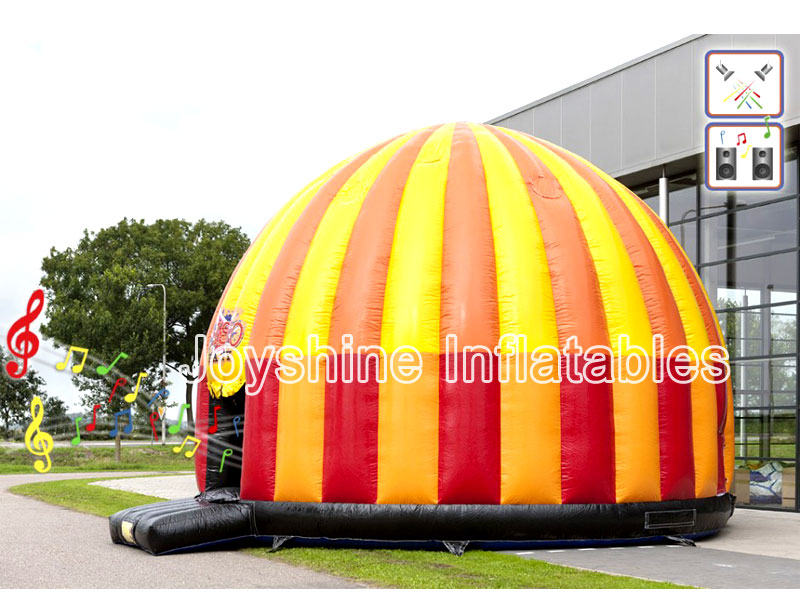 Wholesale Inflatable Disco Dome Tents Outdoor Bounce House Bouncy Castle Inflatable Disco Tent For Sale