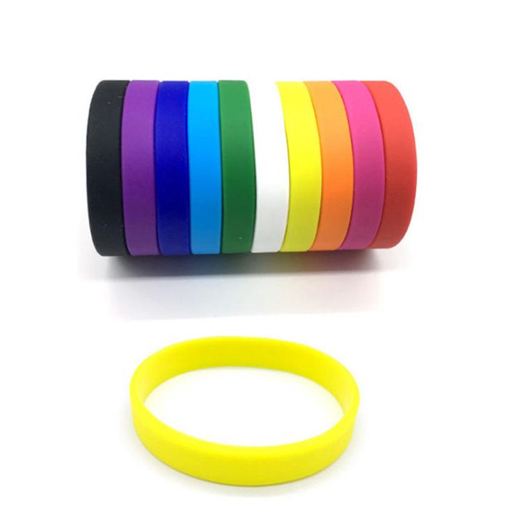 Multicolor Eco-Friendly Expo 2020 Partito/Festival Wristband Del Silicone