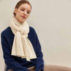 2019 new white women cashmere tatting scarf shawl