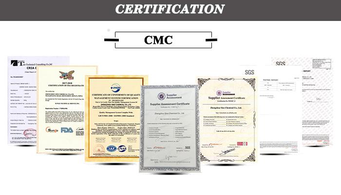 High Viscosity Food Grade sodium carboxymethyl cellulose,CMC price, cmc