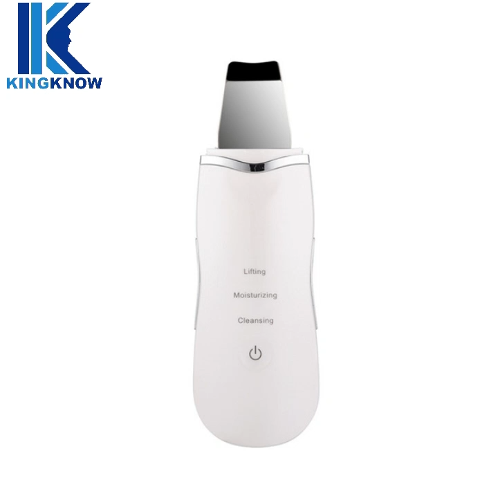 Skin Peeling Beauty Instrument Device Portable Ultrasonic Ion Deep Vibrating Facial Cleansing Skin Scrubber Machine