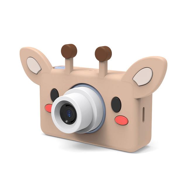 Новинка 2020, C1, Детская мультяшная камера, 2 дюйма, экран 1080 P, HD, 8 м, объектив, мини, ударопрочная, цифровая, для детей, заряжаемая, обучающая кам...(Китай)