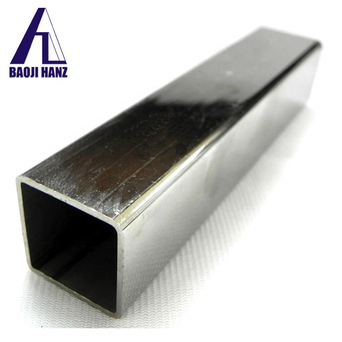 Manufacturer seamless titanium square tube for sale
