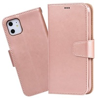 New Design Best Selling Flip Cover Leather Mobile Phone Case With Card Slots