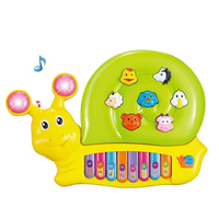 6 to 12 months Toddler Electronic Music toys plastic cartoon piano for baby