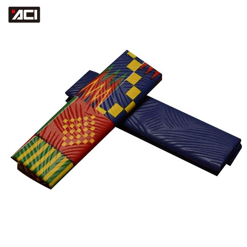 ACI New Ankara Fabric African Real Wax Print Ghana Kente Cloth Veritable Wax Tissu Africain Nigeria Wax Batik Fabric 2+2 Yards