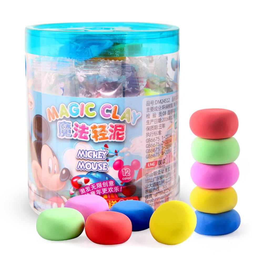 Colorful Creative Light Magic Clays for Children