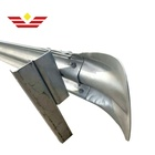 highway guardrail end terminal fish tail, flared terminal section, highway guardrail road safety