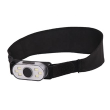 Wit Rood <span class=keywords><strong>Led</strong></span> Koplamp USB oplaadbare cob werken koplamp outdoor running koplamp met <span class=keywords><strong>Clip</strong></span>