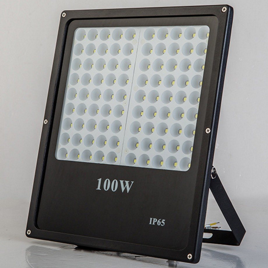 Led Outdoor Stadion Pencahayaan Smd2835 Smd3030 IP65 IP66 LED Flood Light 10 W 20 W 30 W 50 W 100 W 150 W 200 W Ac95-240v Ac165-265v
