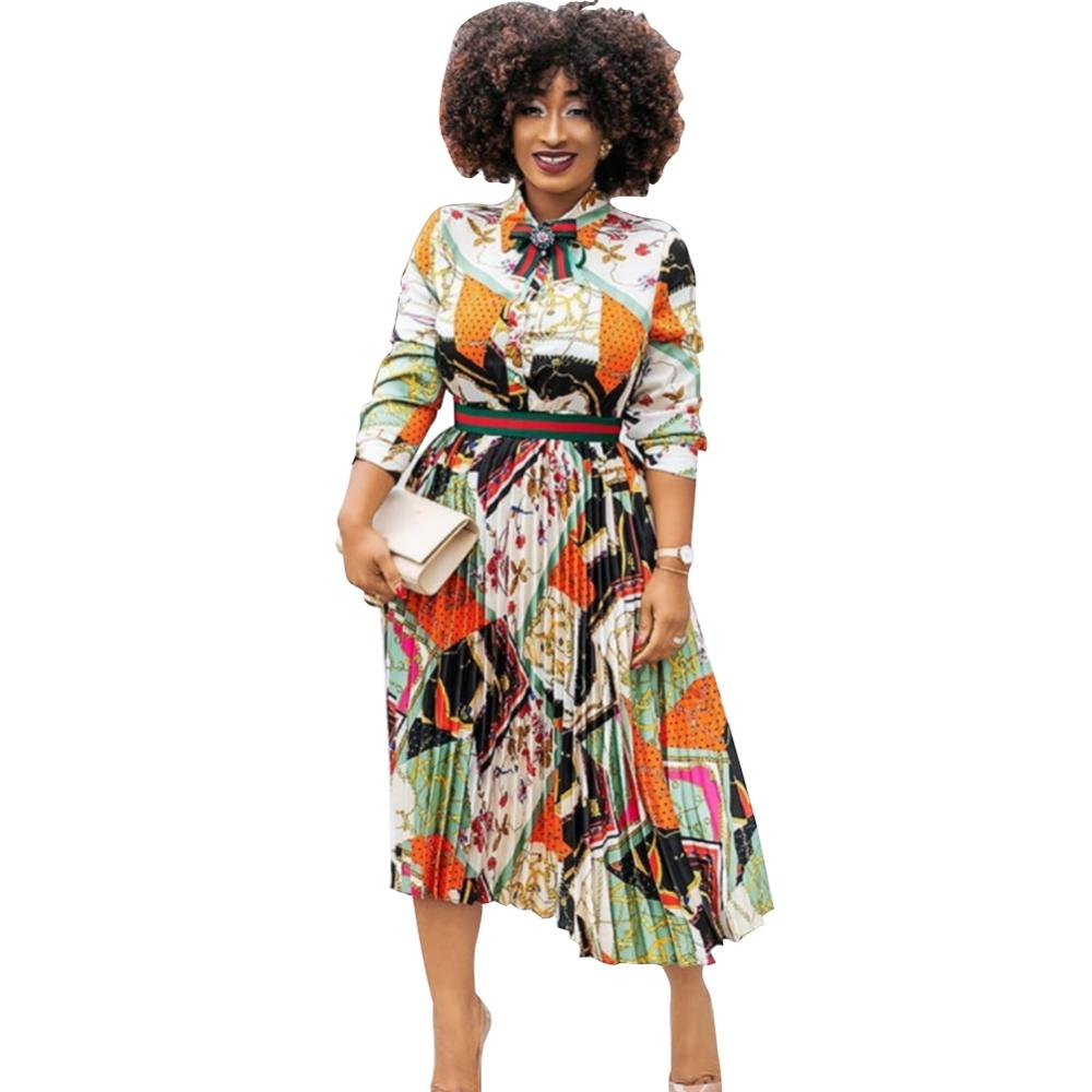 New style fall chiffon 2020 new arrivals african dresses designs dress