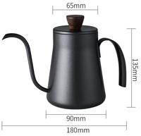 400ml Coffee drip kettle - Pour Over Coffee Maker Tea Kettle - Gooseneck Kettle Coffee Pot