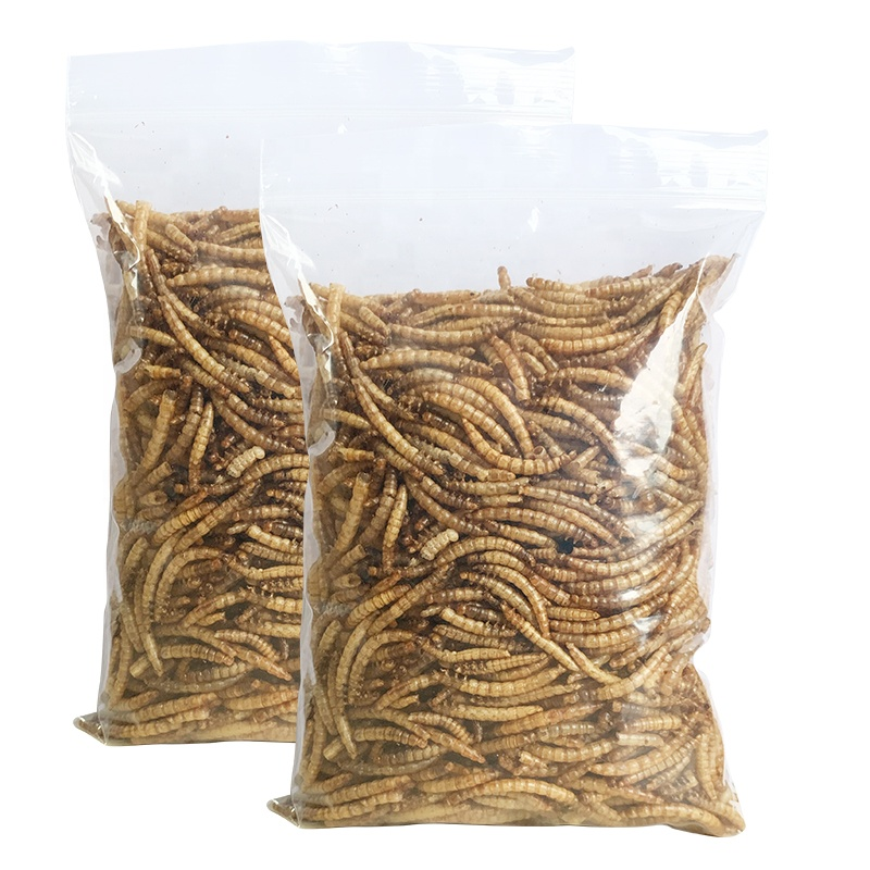 Stocked Feature and pet Application dried mealworms