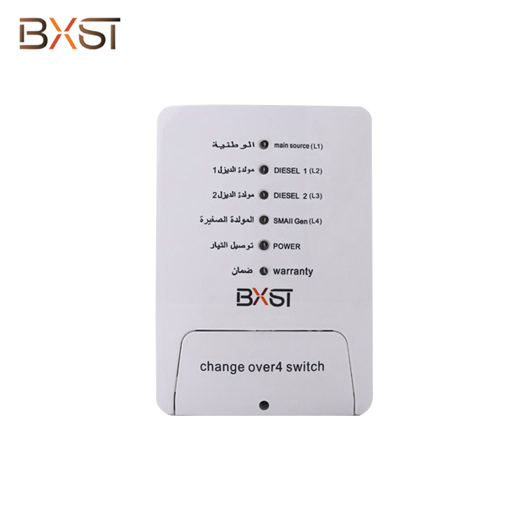 Bx-COV001 Wholesale Custom 4 Switch Home Appliance Safety Types of Automatic Voltage Change over Switch