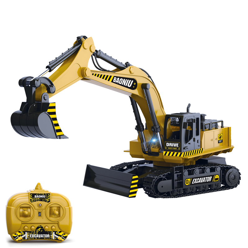 New arrival electric kids toy car control rc excavator