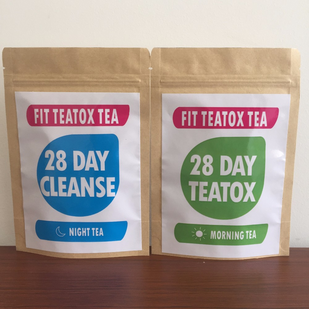 Tiny Tummy Tea, 2 Week Program Detox Evening Cleansing Tea Blend Vegan - 4uTea | 4uTea.com