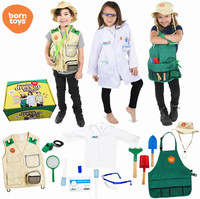 Factory direct handmade kids halloween cosplay costume career costumes for kids wholesale