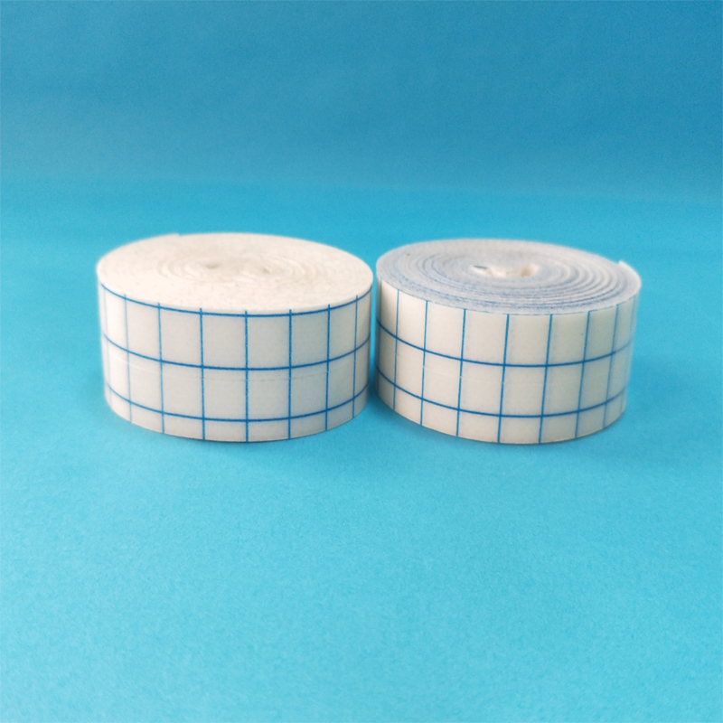 hot sell disposable surgical non woven fabric tape wound dressing adhesive