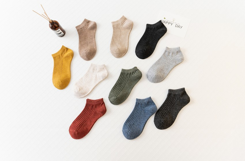 Hosiery children socks cotton low-end shallow cute boat socks odor-proof