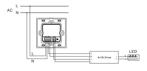 0-10v led dimmer controller