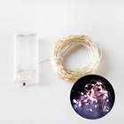 Hot Sale Plastic 2AA Battery Box 20 LED Mini Copper Wire String Lights