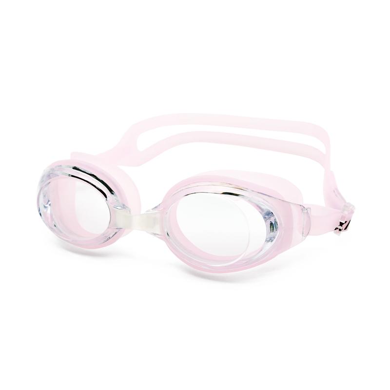 Hampool Oem настраиваемый без протекания Анти-туман УФ-защита с мягкими силиконовыми мостками для носа плавательные очки