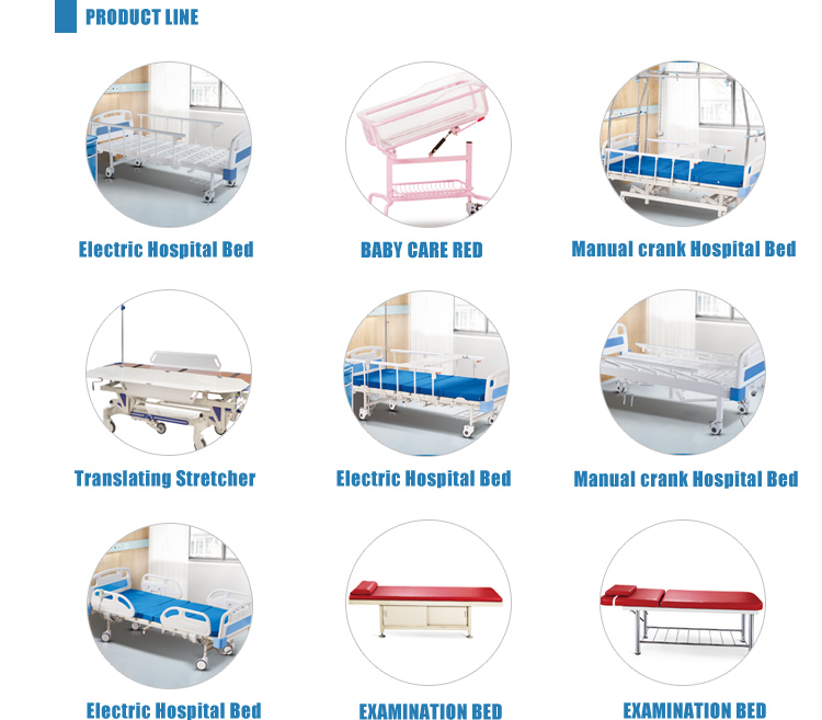 दुबई समायोज्य उपकरणों 3 कार्यों बिजली चिकित्सा अस्पताल आईसीयू बिस्तर