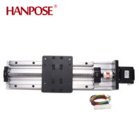 cnc screw length 400mm guide ball screw linear module 57 motor HPV6 CNC sliding table 3D printing