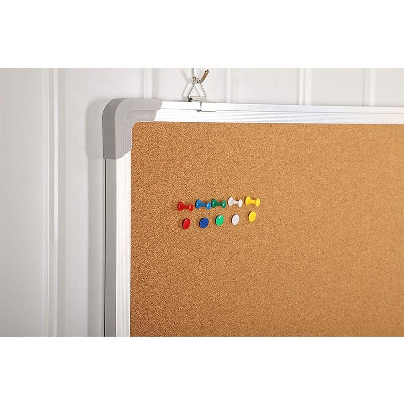 Aluminum frame in 60*90cm bulletin notice wall mount notice board