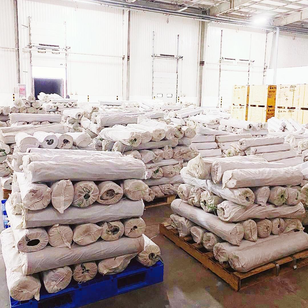 rubber mat for bard production High temperature vulcanized rubber sheet