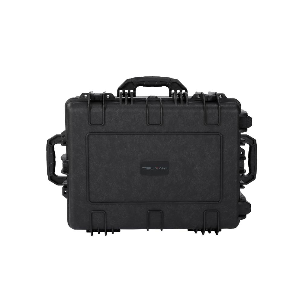 Tsunami customized foam IP67 case DJI mavic pro phantom 3/ 4 drone case waterproof hard case