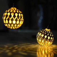 Outdoor Fairy Decorative Lamps Solar String Light for Garden, Party, Wedding, Holiday, Christmas
