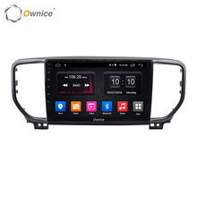 Ownice Android Auto MP5 Sistema Video DVD Player Per Sportage KX5 2016 2019 2020