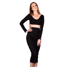 2020 Mode Jurken Vrouwen Lady Elegant Bodycon <span class=keywords><strong>Sexy</strong></span> Tweedelige Rok Sets <span class=keywords><strong>Maxi</strong></span> Casual Dress