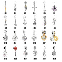 Byx 2019 Hot Selling 925 Sterling Silver for Pandora Style Charm Bracelet Chinese Supplier