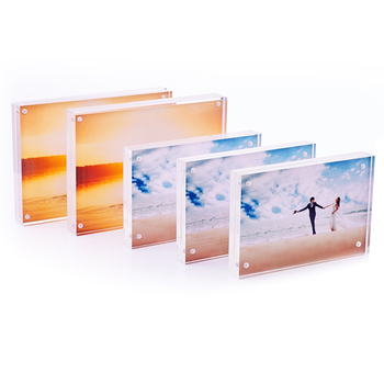 "Wholesale magnetic New Style 4""x6"" Square Acrylic Photofunia/Photo Frame"
