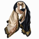 Wholesale 2020 new style words print scarf high quality cotton linen brand pattern women blank scarves for printing