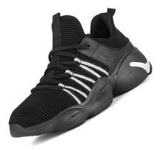 Мужские рабочие ботинки, безопасные ботинки со стальным носком для защиты от проколов, неразрушимые рабочие кроссовки, мужская обувь, Пряма...(Китай)