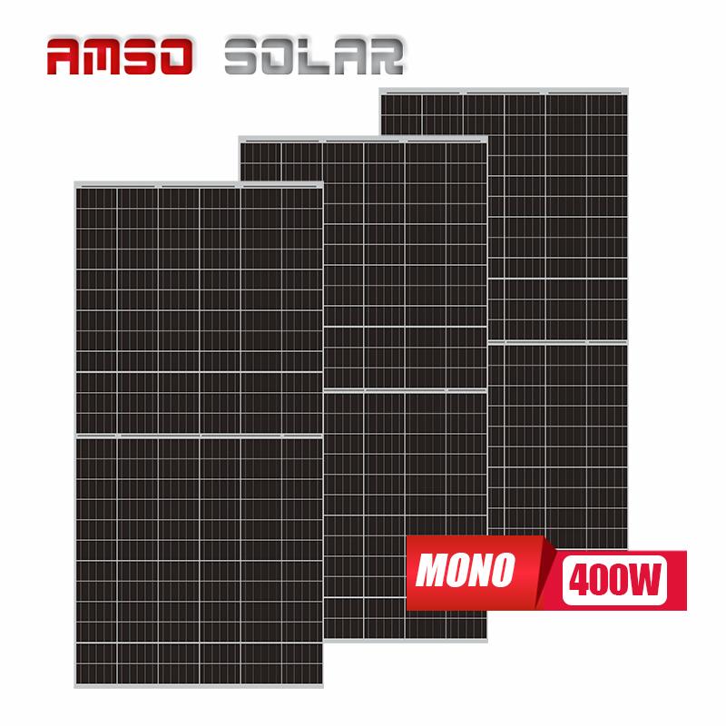 High efficiency 9BB 400W sun power solar panel 400W is 400W solar panel is half cell solar panel solar kit