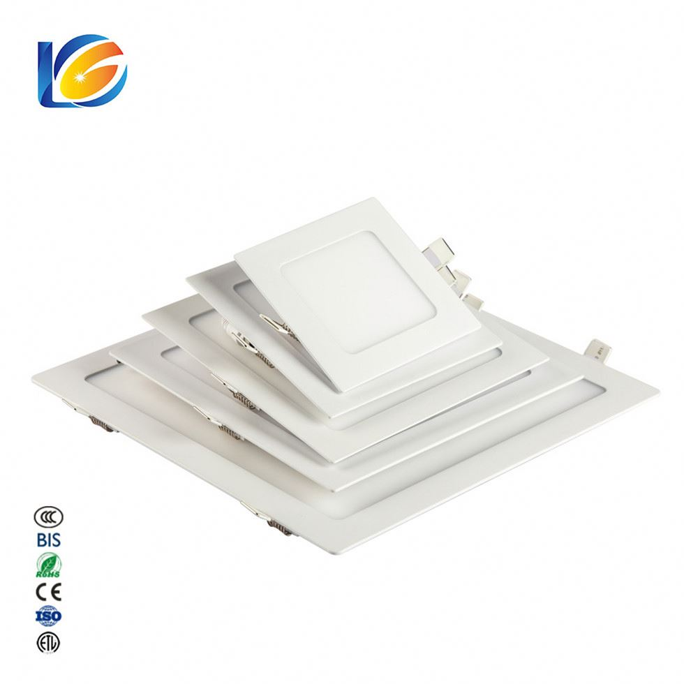 Mounted Slim Round Square Ceiling Board Down Lights Smd Led Panel Light