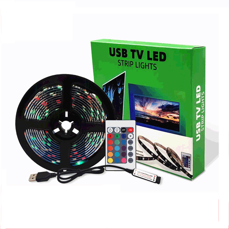 GTYJ5611 China Manufacturer USB 5050 5V RF Waterproof RGB Led Strip Light For TV